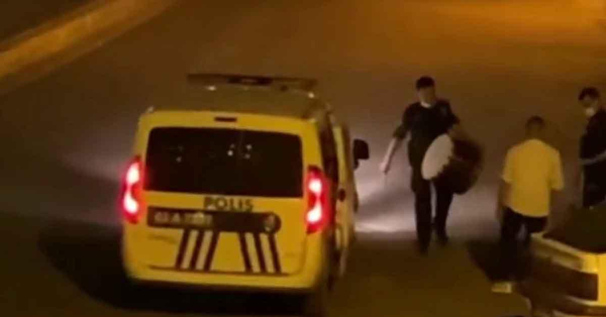Şanlıurfa'da Polisten davul operasyonu