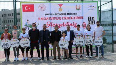 Photo of Urfa'nın kurtuluşuna özel ödüllü kort tenisi turnuvası