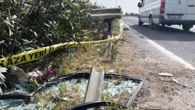 Photo of Urfa'da otomobil bariyerlere çarptı: 1 ölü, 2 yaralı