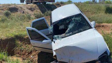 Photo of Şanlıurfa'da otomobil şarampole devrildi: 5 yaralı