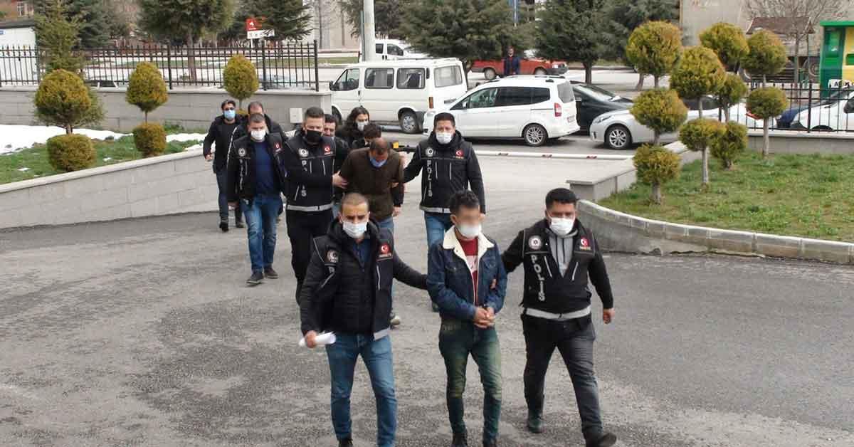 Urfa dahil 5 ilde yapılan uyuşturucu operasyonunda tutuklu sayısı 19'a yükseldi