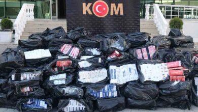 Photo of Urfa'da 43 bin 500 paket kaçak sigara ele geçirildi