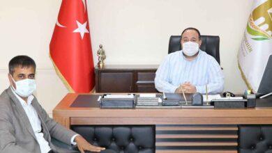 Photo of Muhtar Fenerden Başkan Ekinci'ye Teşekkür Ziyareti