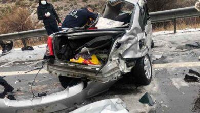 Photo of Zincirleme trafik kazası: 4 ölü, 7 yaralı