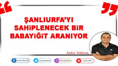 Photo of Şanlıurfa'yı Sahiplenecek Bir Babayiğit Aranıyor