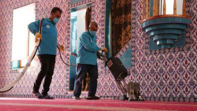 Photo of Şanlıurfa'da camiler Ramazan Bayramı'na hazır