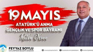 Photo of Başkan Feyyaz Soylu`dan 19 Mayıs Mesajı