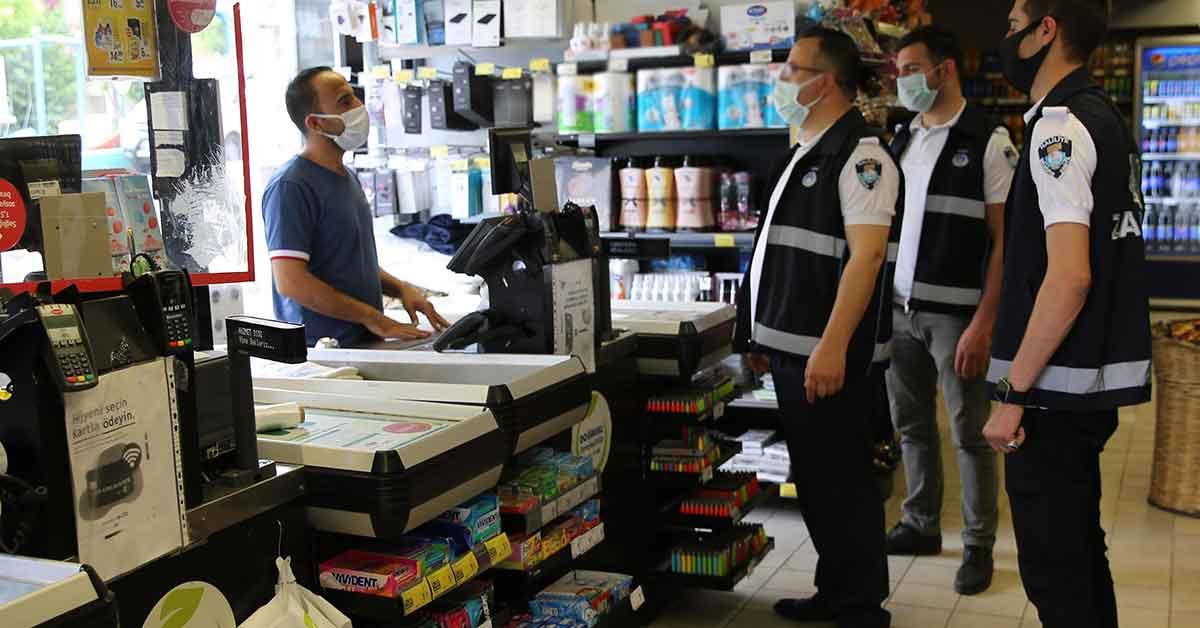Urfa'da zabıtadan zincir marketlere bilgilendirme