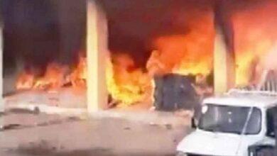 Photo of Şanlıurfa hal pazarında korkutan yangın
