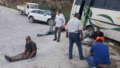 Photo of İşçi servisi kaza yaptı: 14 yaralı