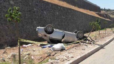 Photo of Şanlıurfa'da otomobil takla attı: 2 yaralı