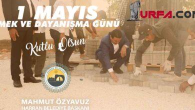 Photo of Başkan Özyavuz'dan 1 Mayıs Mesajı