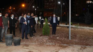 Photo of Başkan Canpolat: Gece, Gündüz tam kadro sahadayız
