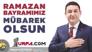 "Photo of Başkan Özyavuz'dan: ""Ramazan Bayramımız Mübarek Olsun"""