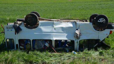 Photo of Mevsimlik işçileri taşıyan minibüs kaza yaptı: 5 yaralı