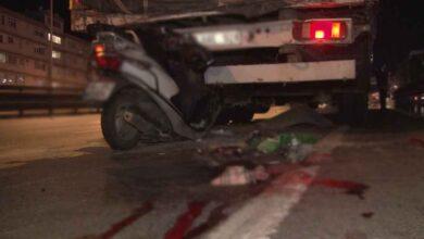 Photo of Motosiklet tıra arkadan çarptı:1 ölü 1 yaralı