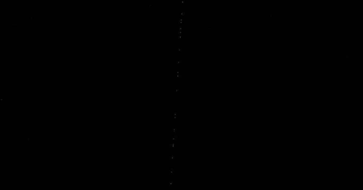 Starlink uyduları Şanlıurfa semalarında görüntülendi