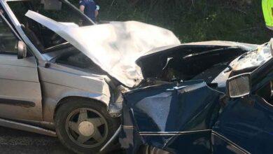 Photo of Otomobiller kafa kafaya çarpıştı: 6 yaralı