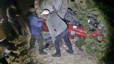 Photo of Traktörün altında kalan sürücü hayatını kaybetti