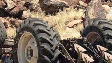 Photo of Urfa'da devrilen traktörün altında kalan çiftçi öldü