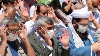 Photo of Şanlıurfa'da gıyabi cenaze namazı kılındı
