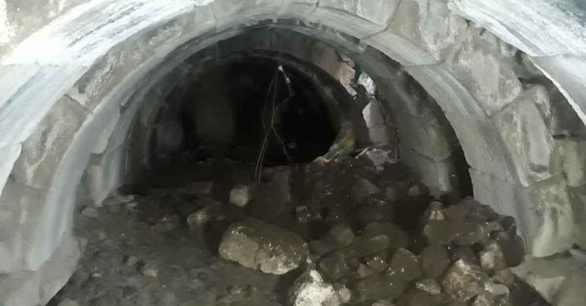 Urfa'da Kaçak kazıda Roma zindanları çıktı