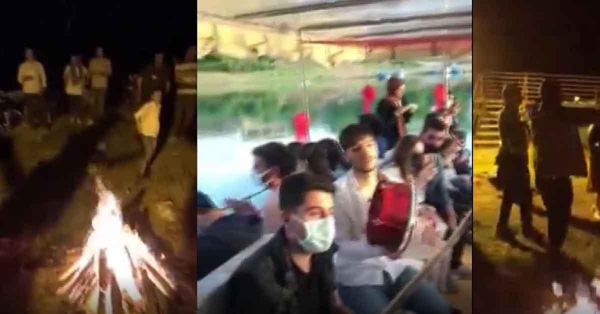 Urfa'da Kültür gezisinde korona virüsü yok saydılar