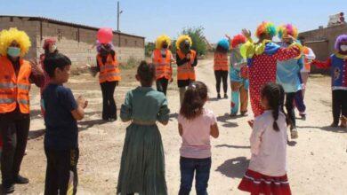 Photo of Kırsaldaki Urfalı Çocuklara Palyaço Sürprizi