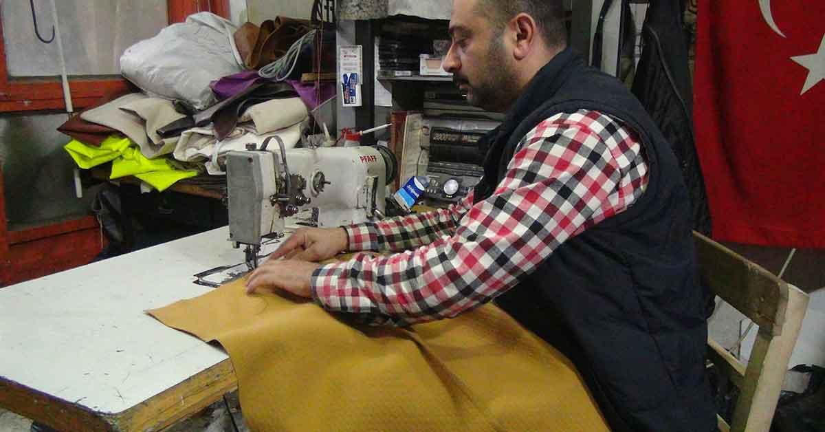 Urfa'da Organik deri sektörü bitince suni deriye geçtiler