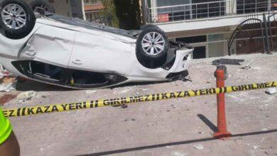 Photo of Urfa'da Kaldırımda yürüyen kıza otomobil çarptı