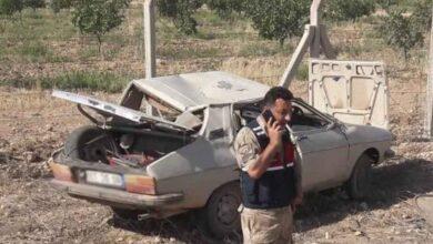 Photo of Urfa'da devrilen otomobildeki 2 kişi yaralandı
