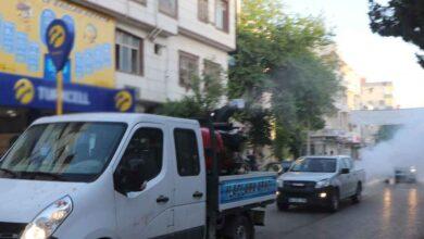 Photo of Viranşehir'de ilaçlama çalışmaları devam ediyor