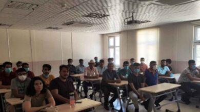 Photo of Urfa AKUB çalışanlarına eğitim verildi
