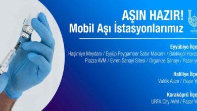 Photo of Şanlıurfa'da Mobil Aşı İstasyonları Kuruldu