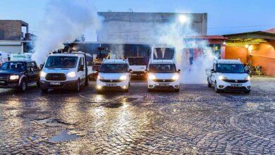 Photo of Ceylanpınar'da Haşereyle Yoğun Mücadele