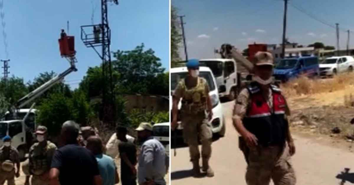 Suruç'ta borçlu çiftçilerin elektriği kesildi