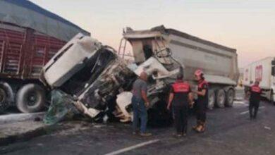 Photo of Şanlıurfa'da feci kaza: 1 yaralı