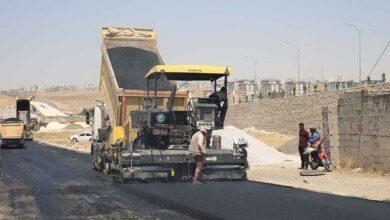 Photo of Haliliye'de yol yapım çalışmaları sürüyor