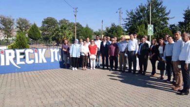 Photo of HRÜ Rektörü ve Yönetimi birecik MYO'da