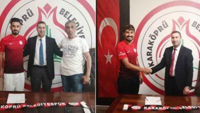 Photo of Karaköprü'den 2 Transfer