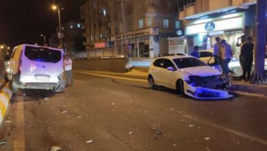Photo of Urfa'da Alkollü Sürücü Belediye Aracına Çarptı
