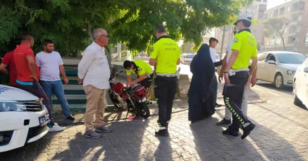 Urfa'da Otomobil ile motosiklet çarpıştı: 1 yaralı