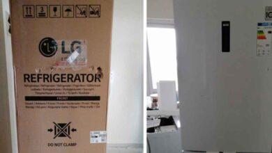 Photo of Urfa'lının internetten aldığı buzdolabı hasarlı çıktı