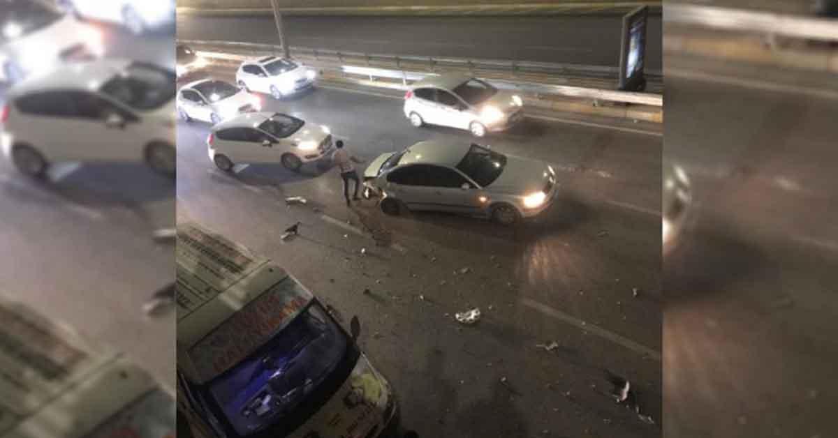 Şanlıurfa'da kaza trafiği felç etti