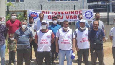 Photo of Şanlıurfa'da Fabrika işçileri greve başladı