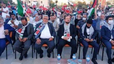 Photo of Urfa'da binlerce kudüs gönüllüsü nöbete durdu