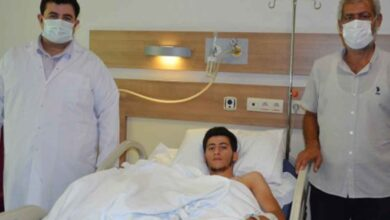 Photo of Mardinli Genç, Şanlıurfa'da sağlığına kavuştu