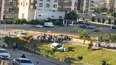 Photo of Karaköprü'de trafik kazası: 4 yaralı