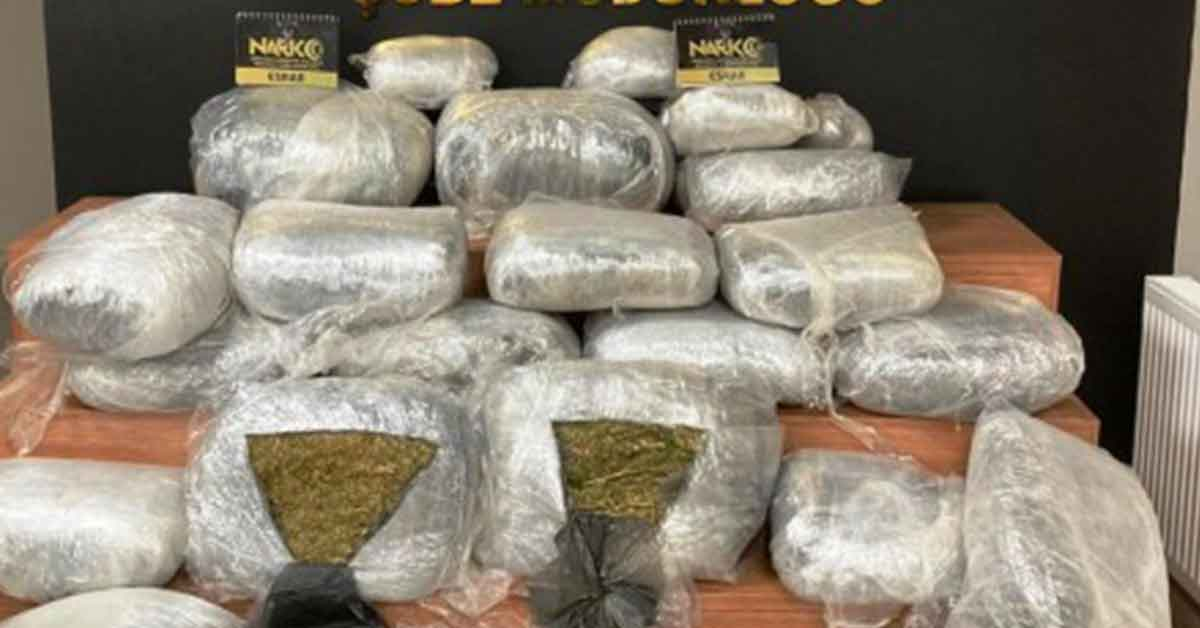 Urfa'da 125 kilogram uyuşturucu madde ele geçirildi