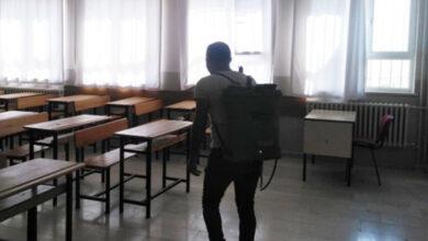 Photo of Viranşehir'de YKS Öncesi Okullar Dezenfekte Edildi